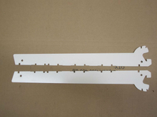aluminum shelf brackets for tegometal system