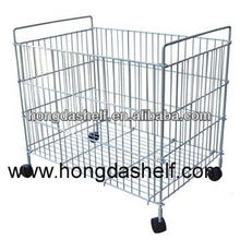 foldable wire container